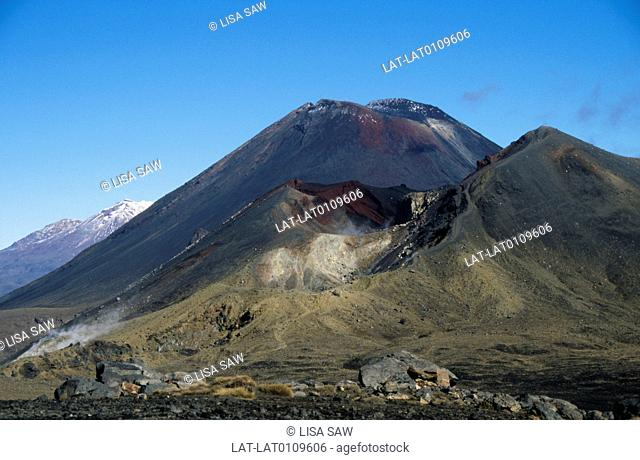 Tongariro national park is the oldest national park in the country and the fourth in the world. It is a UNESCO World Heritage Site