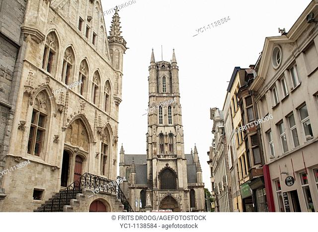 St Bavo Cathedral, Ghent, Belgium