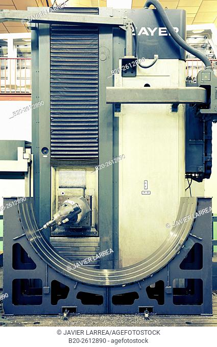 CNC Milling, Machining center, industry