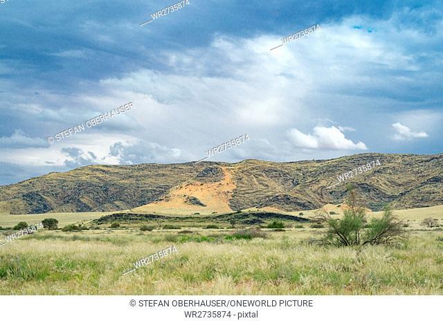 Namibia, Hardap, Namib - Naukluft Park, landscape of the Namib-Naukluft Park