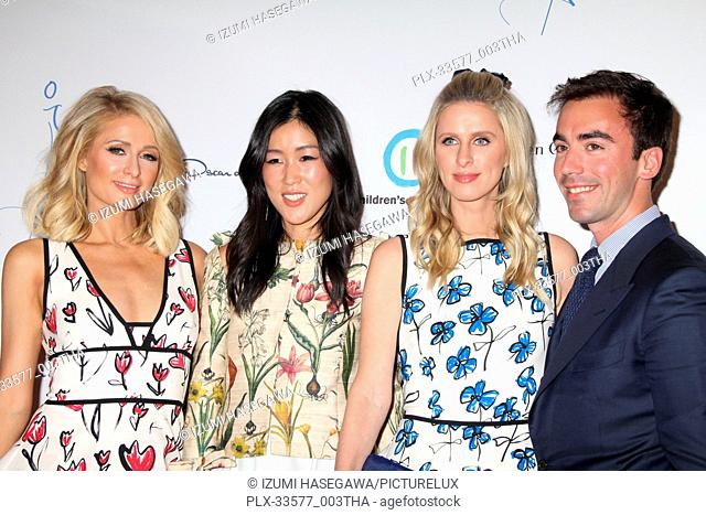 Paris Hilton, Laura Kim, Nicky Hilton Rothschild, Fernando Garcia 04/17/2018 The Colleagues and Oscar de la Renta's Annual Spring Luncheon held at The Beverly...
