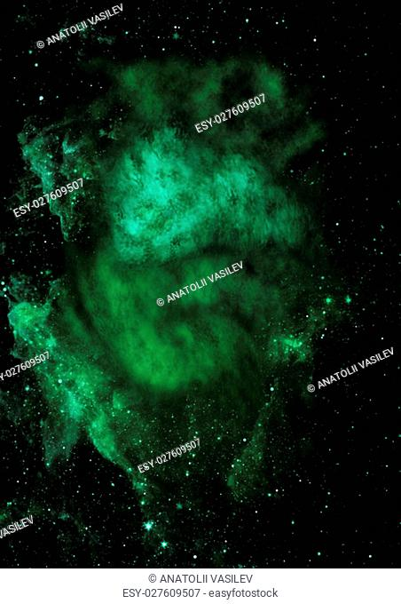 """Far being shone nebula and star field against space. """"""""Elements of this image furnished by NASA"""""""""""