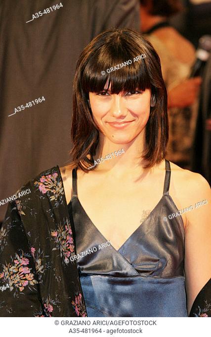 62nd Venice Film Festival (01/09/05): film 'All the Invisible Children', the singer Elisa (premiere/red carpet)