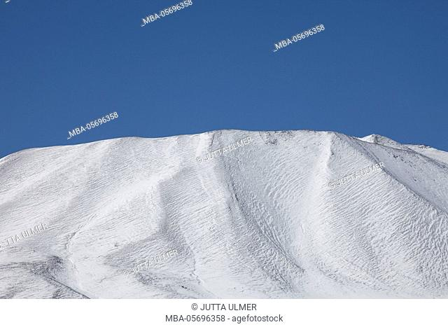 Chile, national park Nevado Tres Cruzes, Ojos del Salado, mountains, snow