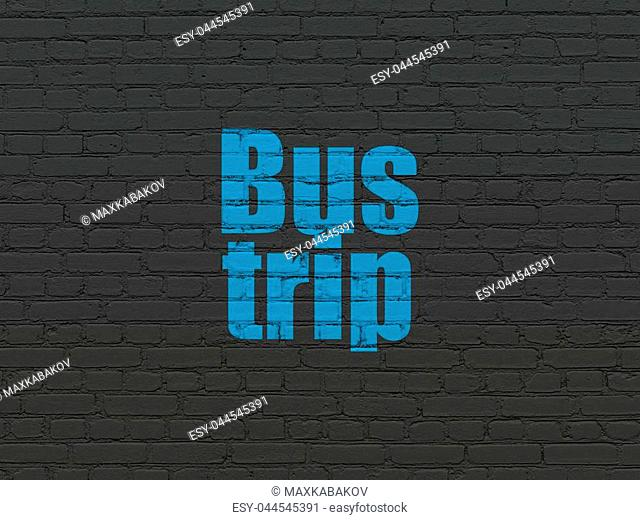 Vacation Concept With Brick Wall Stock Photos And Images