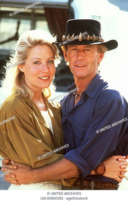 Crocodile Dundee's (PAUL HOGAN) Leben in New York beginnt ihn zu langweilen Regie: JOHN Cornell aka. Crocodile Dundee II / CROCODILE DUNDEE II USA 1987