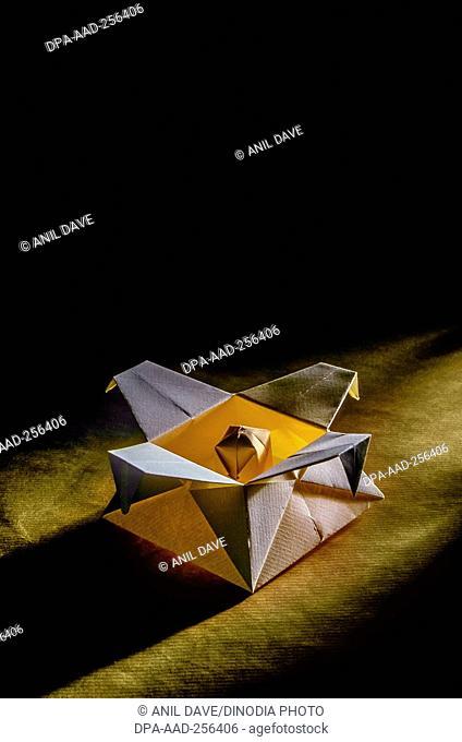 Japanese paper craft origami, india, asia