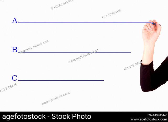 hand planning