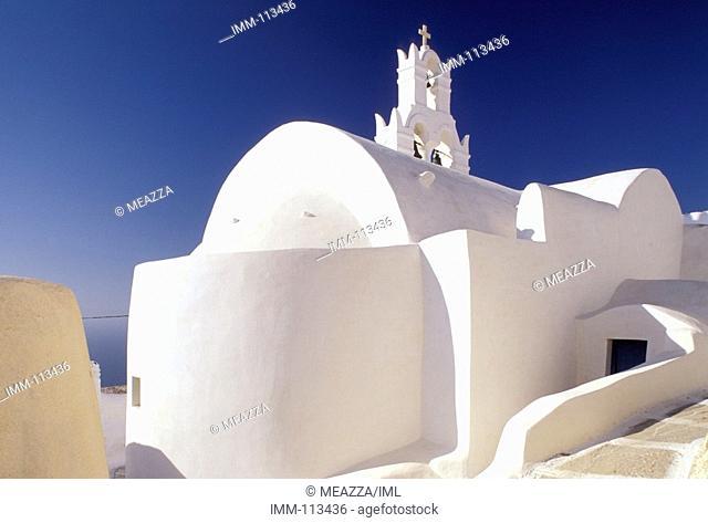 Cyclades, Anafi  Hora: Panagia church