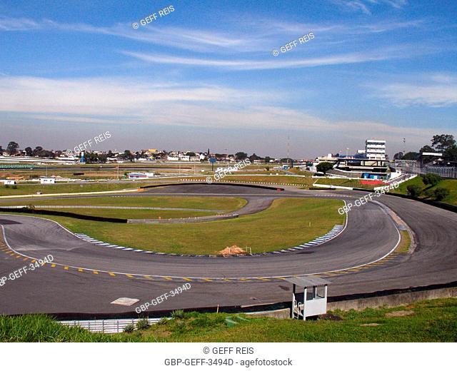 Interlagos Race track , José Carlos Pace Race track, Interlagos, São Paulo, Brazil