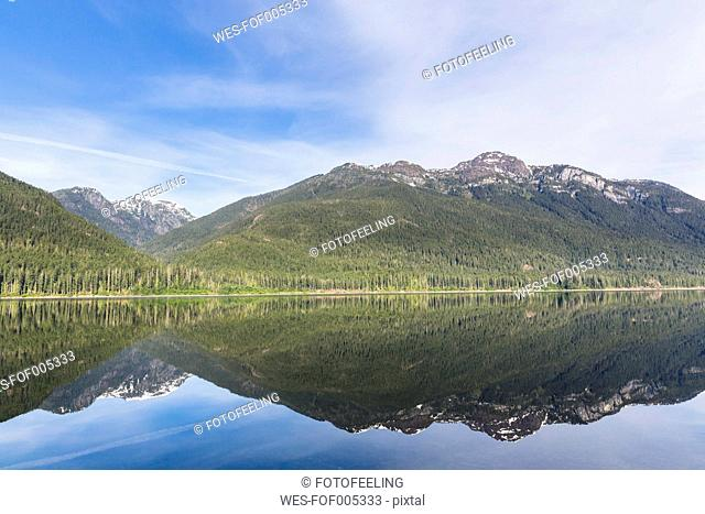 Canada, Vancouver Island, Strathcona Provincial Park, Buttle Lake