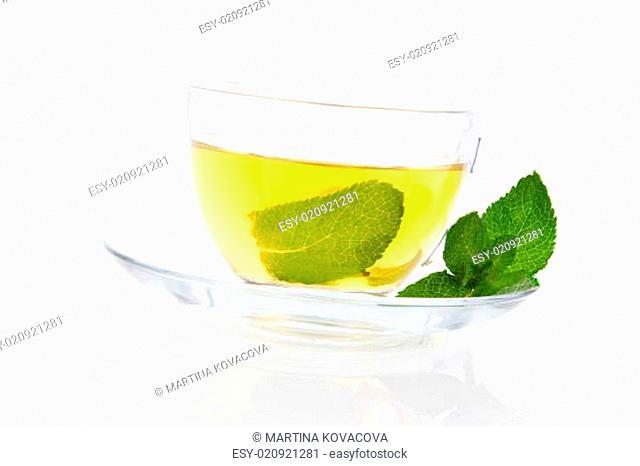 Delicious fresh Mint tea