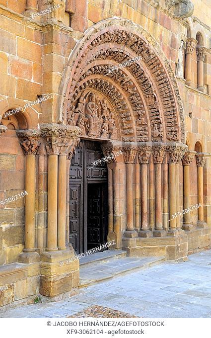 Romanesque church of Santo Domingo. Soria. Castilla y León. Spain