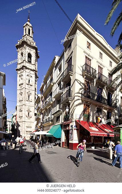 Santa Catalina church tower, Valencia, Spain