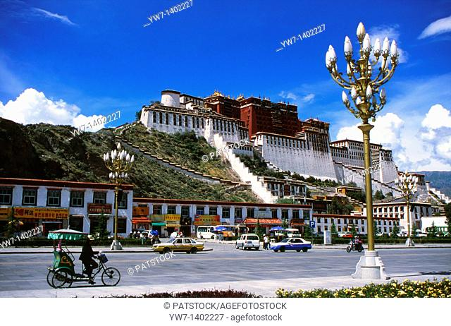 The Potala Palace is located in Lhasa, Tibet Autonomous Region of the People's Republic of China  It was named after Mount Potala