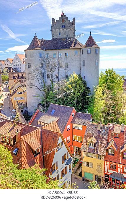 Castle, Meersburg, Lake Constance, Baden-Wurttemberg, Germany