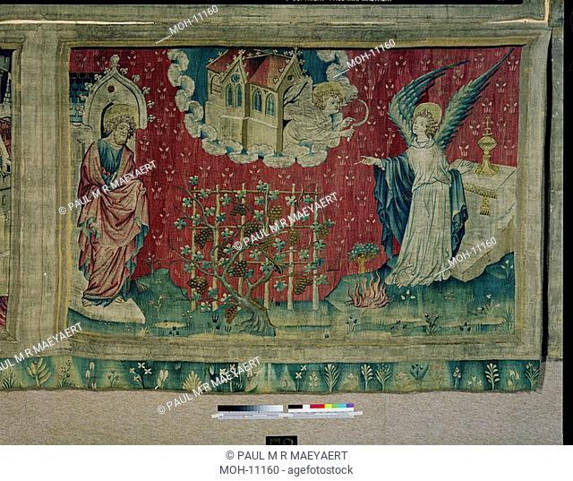 La Tenture de l'Apocalypse d'Angers, Le vendange des réprouvés 1,52 x 2,40m, Weinlese