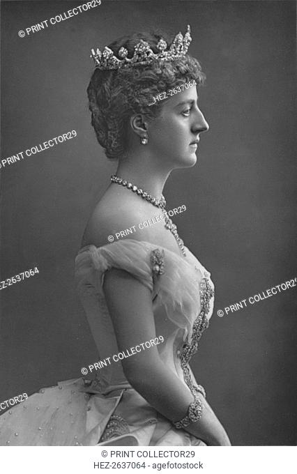 'The Marchioness of Londonderry', c1891. Artist: W&D Downey
