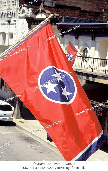 Tennessee. Morristown.State Flag