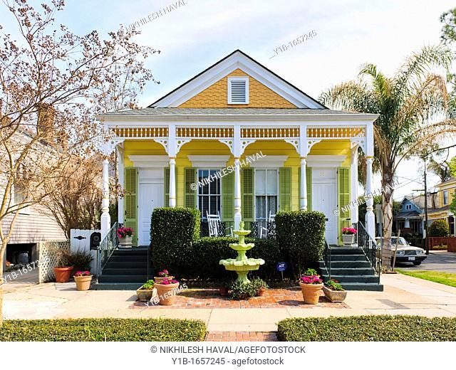 Shotgun House, Algiers Point, New Orleans