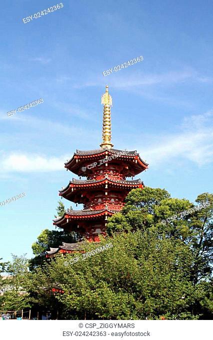 Kawasaki Daishi temple in Japan