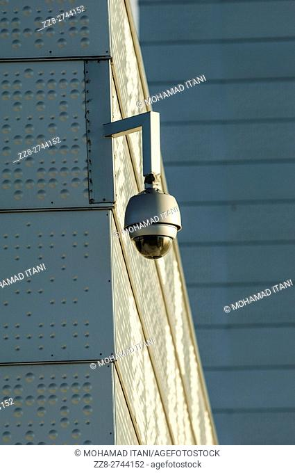 CCTV camera at the opera house Oslo Norway