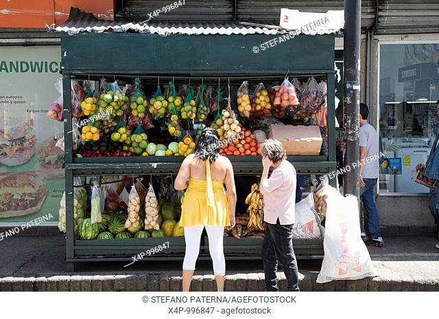 Fruit Stall, San Jose, Costa Rica