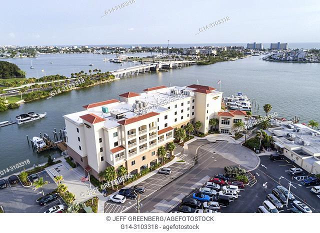 Florida St Saint Petersburg Madeira Beach Courtyard By Marriott Hotel
