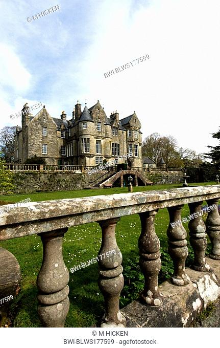 Torosay castle and gardens, craignure, United Kingdom, Scotland, Isle of Mull