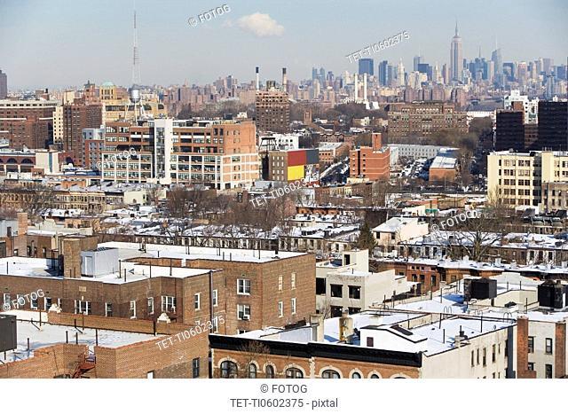 USA, New York City, Brooklyn, cityscape