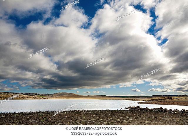 Torcón reservoir. San Pablo de los Montes. Toledo. Castilla la Mancha. Spain. Europe