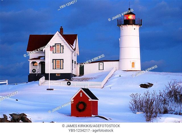 Nubble Light, York Maine