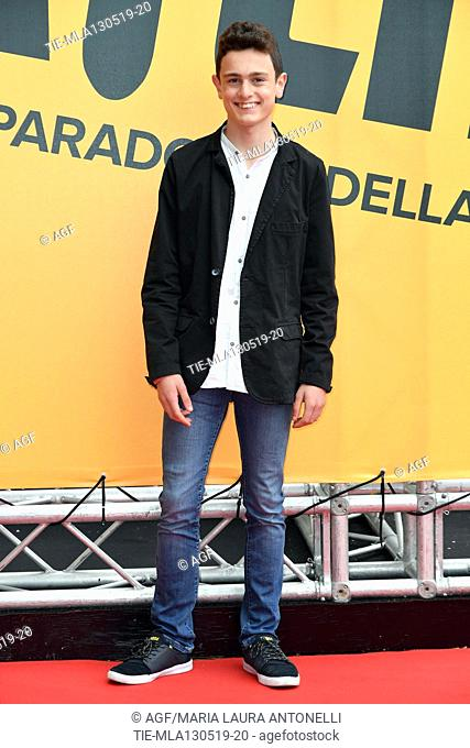 Giovanni Stocchino during 'Catch-22' TV show photocall, Rome, Italy - 13 May 2019