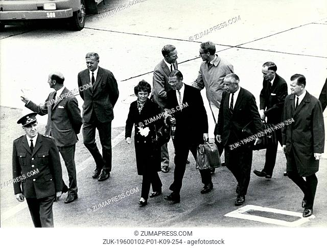Sep 18, 1970 - Copenhagen, Denmark - Robert McNamara in Copenhagen. Wrapped in the tightest security measures ever. Robert McNamara, pres