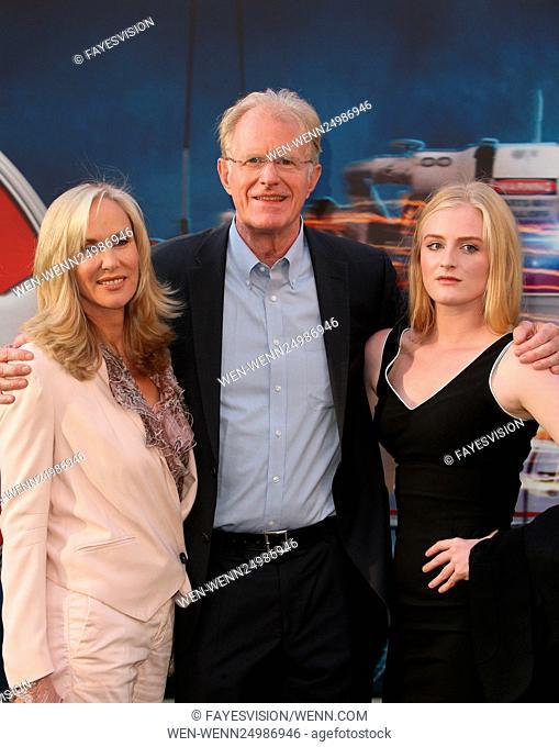 Los Angeles premiere of 'Ghostbusters' - Arrivals Featuring: Amanda Begley, Ed Begley Jr., Hayden Carson Begley Where: Los Angeles, California