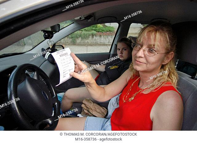 Patti's parking ticket