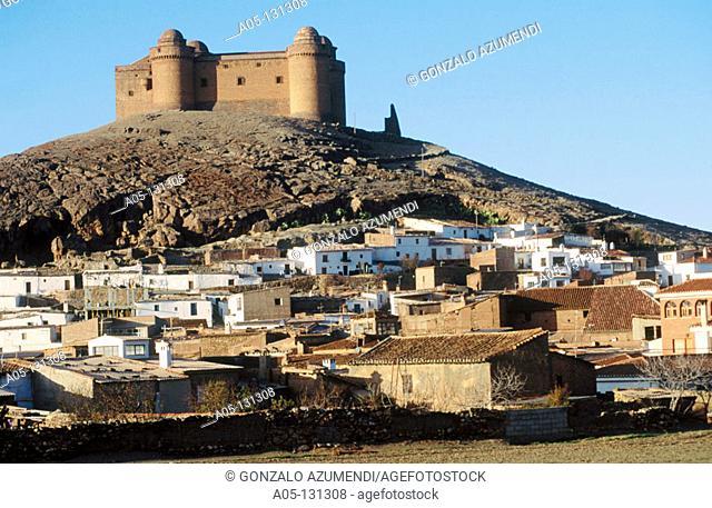 Castle. Lacalahorra. Granada province. Andalucia. Spain