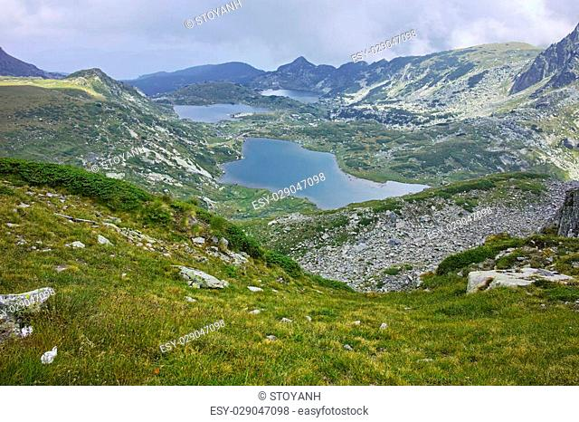 The Twin, The Trefoil, the Fish and The Lower Lakes, The Seven Rila Lakes, Bulgaria