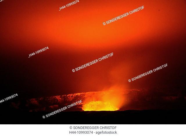 Big Island, Kilauea, volcano, Caldera, Vulcanoes, National Park, Big Island, USA, Hawaii, America, Volcanical, lava