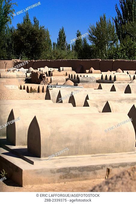 Abakh Hojam Tomb, Kashgar, Xinjiang Uyghur Autonomous Region, China