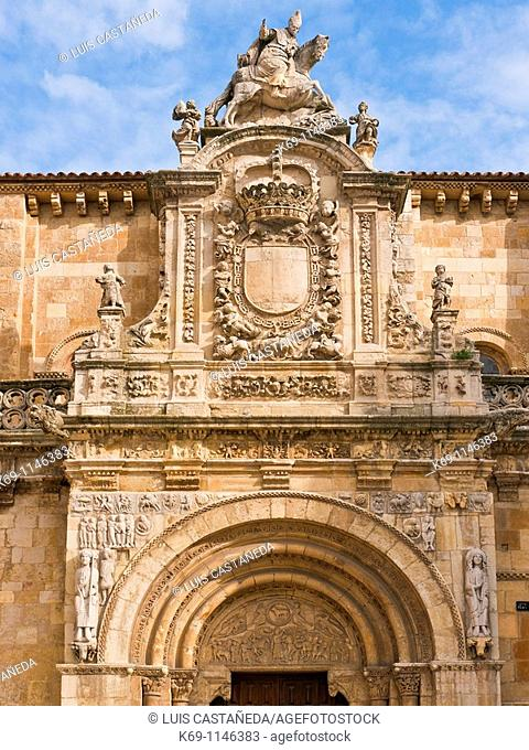 The Basilica of San Isidoro is a church in León, located on the site of an ancient Roman temple  Its Christian roots can be traced back to the early 10th...