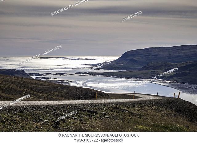 Countryside Road, Djupifjordur, West Fjords, Iceland