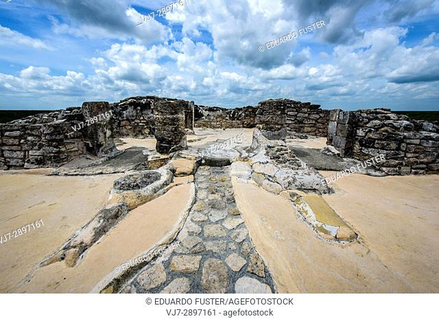 Archeological mayan site of Mayapan, Yucatan (Mexico)