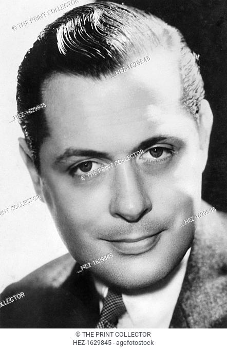 Robert Montgomery (1904-1981), American actor and director, c1930s-c1940s. In 1937 Montgomery was nominated for the Academy Award for Best Actor as a psychopath...