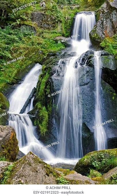 idyllic Triberg Waterfalls