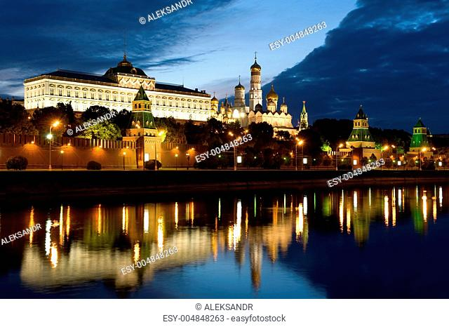 Moscow Kremlin morning