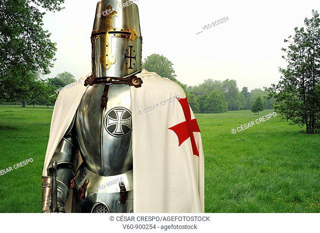Crusader in Kensington Gardens, London, England
