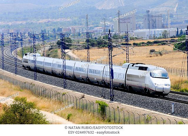 Spanish TGV, Bellvei, Tarragona, Spain