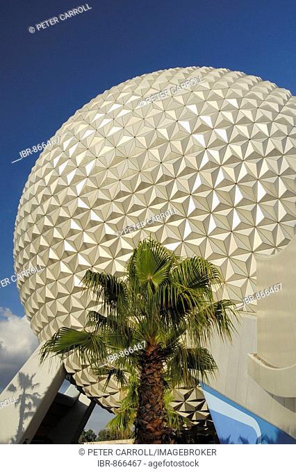 Spaceship Earth at Epcot, Disney World, Floida, USA