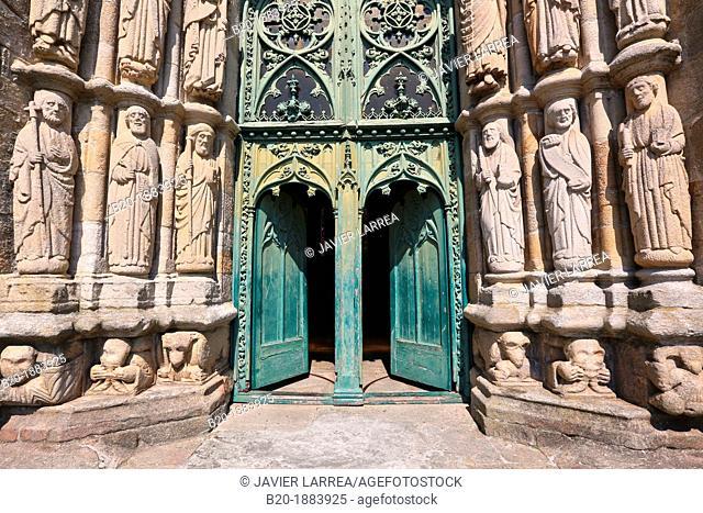 San Martiño Church, Noia, A Coruña province, Galicia, Spain